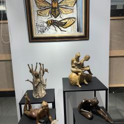 Nathalie Lefort Art Gallery Design Bernard Buffet