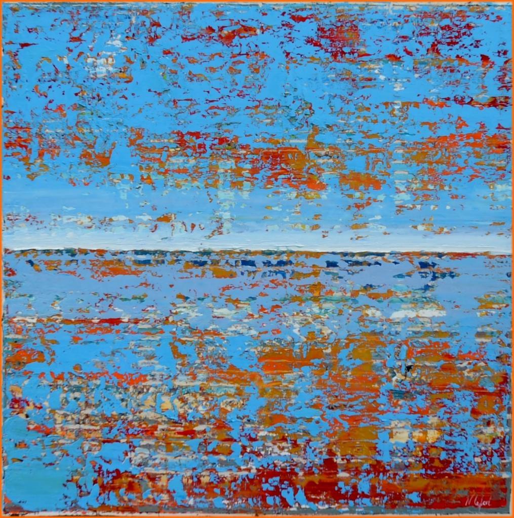 Ocean Huile marine de Nathalie Lefort