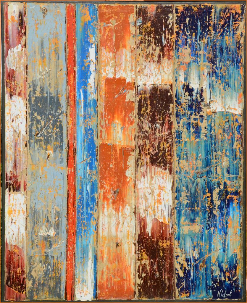 Vibration huile marine de Nathalie Lefort