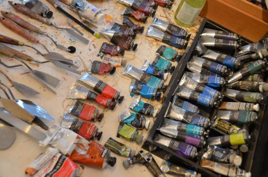 Atelier nathalie lefort peintre et sculpteur 2
